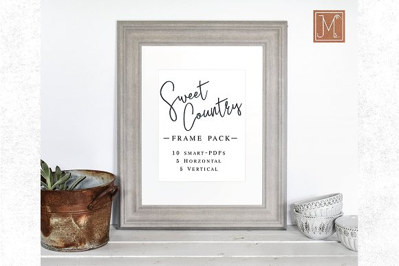 NEW Sweet Country Frame Bundle 10x