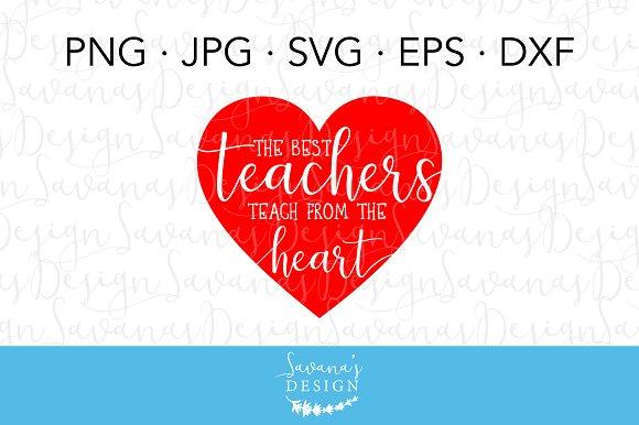 Teachers Teach From The Heart