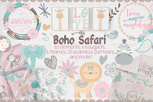 Boho Safari designers set