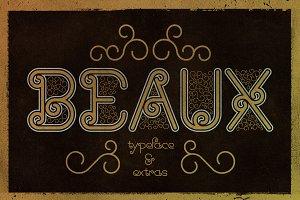 Beaux Typeface + Extras