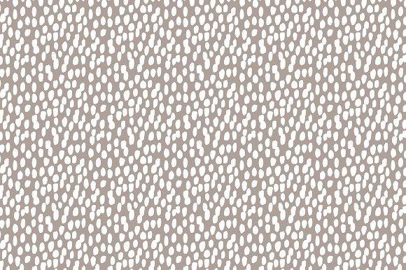 Brushstroke Dabs Vector Pattern