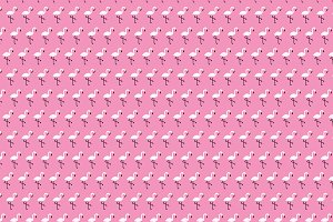 Flamingo Seamless Vector Pattern