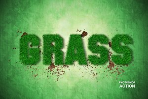 Grass Photoshop Action