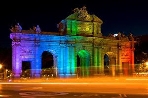 Alcala Gate in World Pride Week