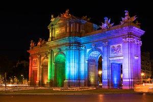 Alcala Gate, World Pride Week