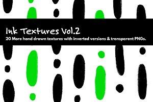 Ink Textures Vol.2