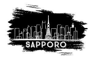 Sapporo Skyline Silhouette.