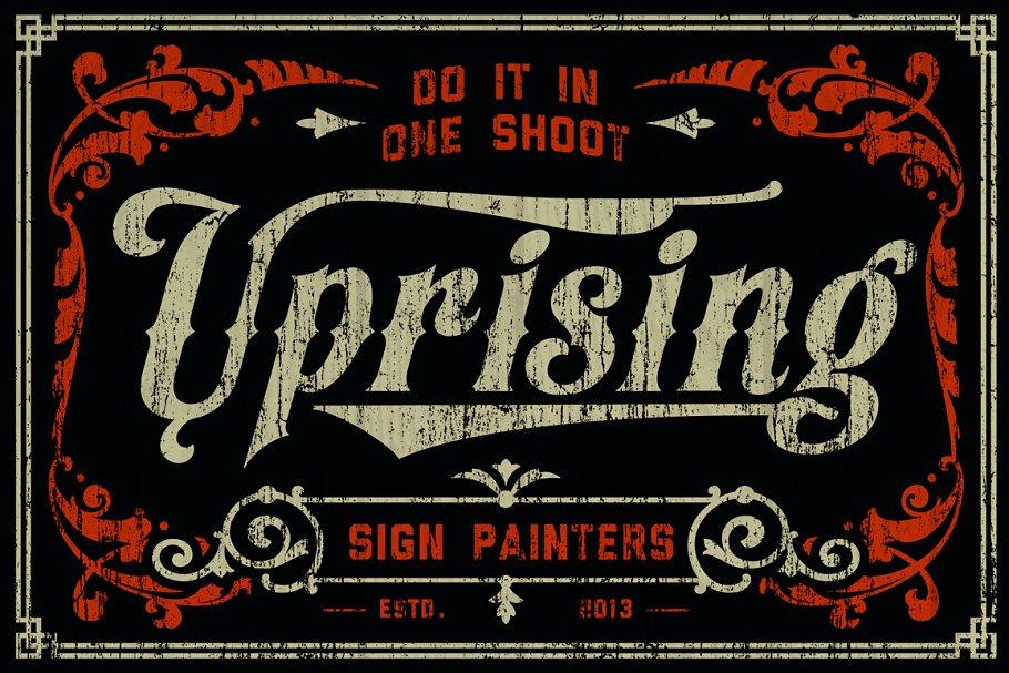 Best Appleton Font + Poster Vector