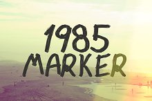 1985 Marker by  in Non Western Fonts