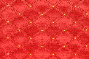red background of square shape, texture
