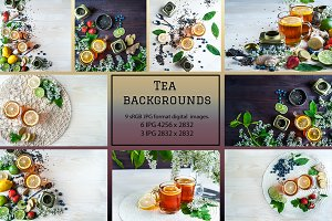 Tea Backgrounds 9 images