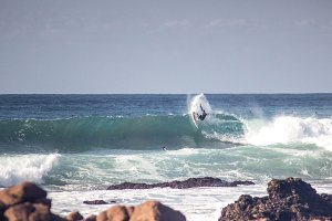 Surfer trick cut back