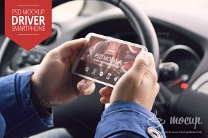 Mockup Smartphone Driver