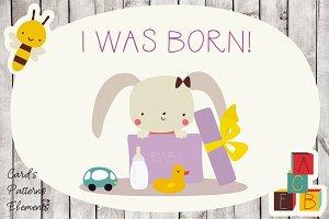 I was born!