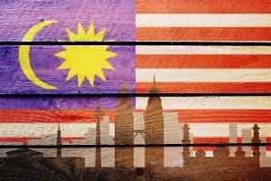 Malaysian flag kuala lumpur
