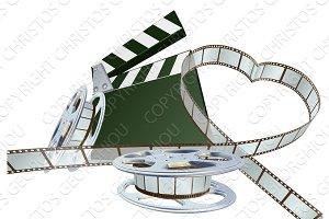 Film lover concept