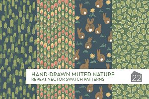Hand-drawn Muted Nature