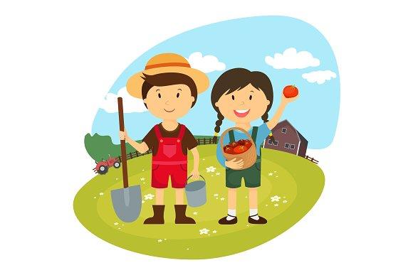 Children On The Farm