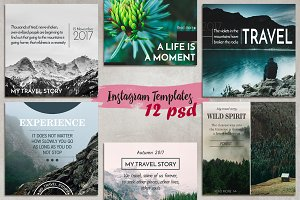 12 Instagram Templates