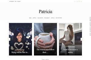 Fashion WordPress Theme - Patricia