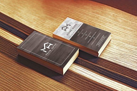 Wooden Business Card 2