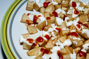 potatoes bravas