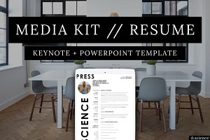 Media Kit | Press Kit | Resume No.1
