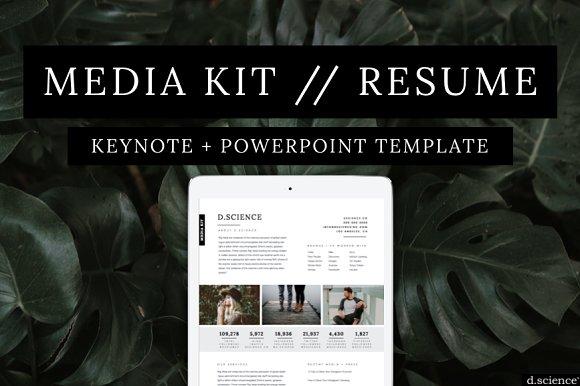 Media Kit | Press Kit | Resume No.2