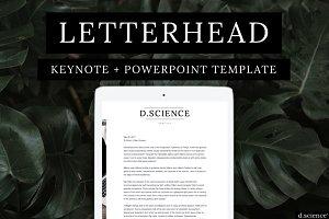 Letterhead | Cover Letter No.2