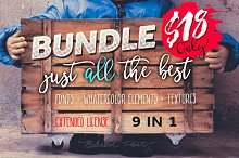 wedding fonts bundle