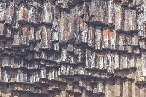 Svartifoss Waterfall Texture