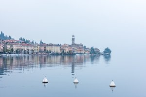 The Garda lake in Italy