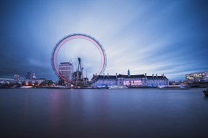 Twilight in London