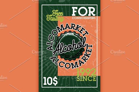 Color Vintage Alcomarket Banner
