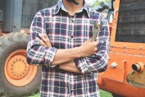 Portrait of engineer
