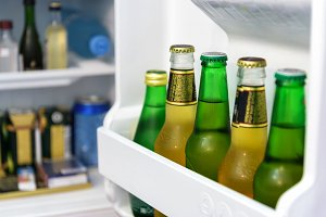 Mini fridge bar