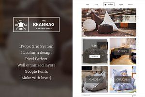 BBM - eCommerce PSD Template