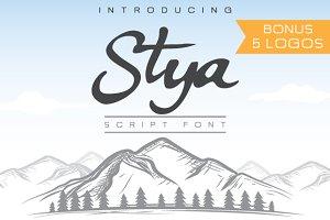 Stya Font