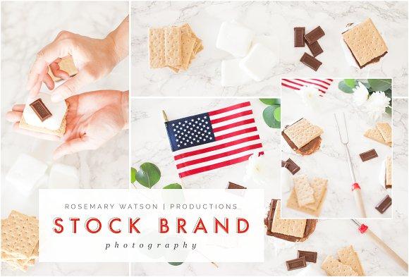 Smores Stock Photo Bundle