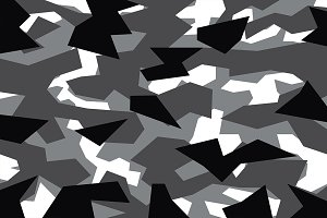 Grey Geometric Camouflage (Vector)