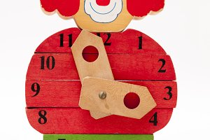 clown clock