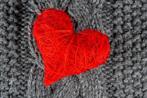 Red Heart. Valentine's Day