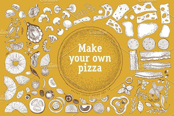 Pizza Vector Creator