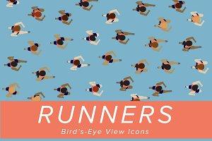 Runner Illustrative Icons