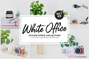 White Office | Stock Photo Bundle
