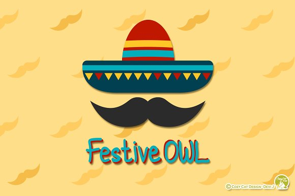 Digital Clipart  FestiveOWL