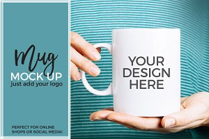 COFFEE MUG MOCK UP STYLED PHOTO
