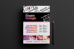 Graphic Designer Poster Template
