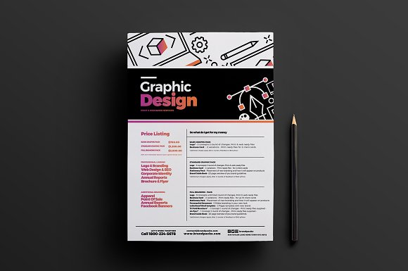 Graphic Designer Poster Template 2