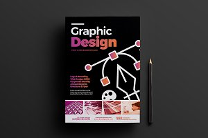 Graphic Designer Poster Template 3